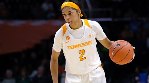 <p>               FILE - In this Jan. 24, 2019, file photo, Tennessee guard Evina Westbrook (2) brings the ball down court during an NCAA college basketball game against Notre Dame in Knoxville, Tenn. The former Tennessee guard has joined the Connecticut women's basketball team, UConn said Saturday, May 11, 2019. The 6-footer, who has two years of eligibility left, led the Lady Vols with 14.9 points and 5.3 assists a game last season while shooting 42 percent. (AP Photo/Shawn Millsaps, File)             </p>