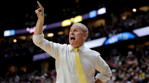 <p>               FILE - In this March 28, 2019 file photo, Michigan coach John Beilein shouts during the first half of the team's NCAA men's college basketball tournament West Region semifinal against Texas Tech in Anaheim, Calif. Cleveland has signed Beilein to a five-year contract, three people familiar with the decision told The Associated Press on Monday, May 13. The deal came together quickly in the past 24 hours and was finalized Sunday after the Cavs had spent the weekend in Denver interviewing several NBA assistants. The people spoke to The AP condition of anonymity because the team had not announced the hire.  (AP Photo/Jae C. Hong, File)             </p>