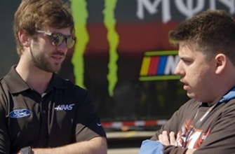 Christian Sanchez meets his favorite NASCAR driver Daniel Suarez on special weekend