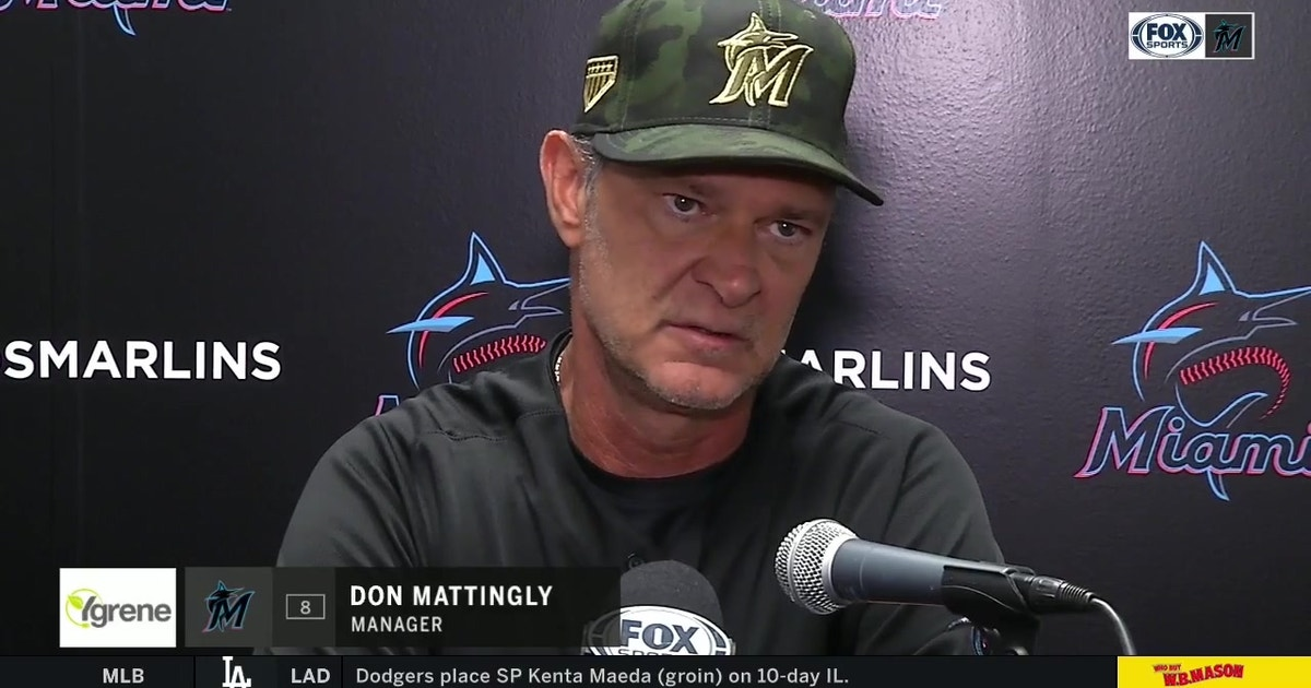 Don Mattingly breaks down the series opener victory over Mets