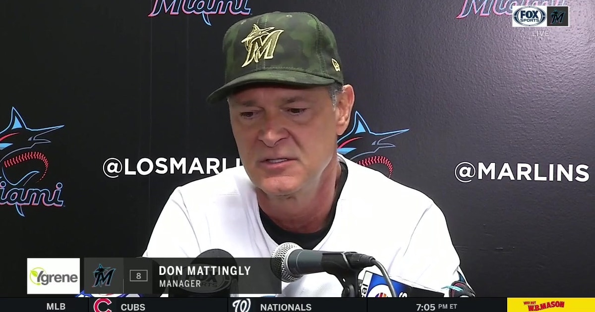 Don Mattingly examines Marlins' 3-game sweep of Mets