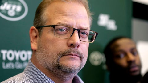 <p>               FILE - In this Dec. 31, 2018 file photo, New York Jets general manager Mike Maccagnan speaks to reporters in Florham Park, N.J. The New York Jets have fired Maccagnan and coach Adam Gase will serve as the acting GM in his place. The stunning decision by team chairman and CEO Christopher Johnson was announced in a statement posted on the team's Twitter account. Maccagnan had been the Jets' general manager since 2015. (AP Photo/Seth Wenig, File)             </p>