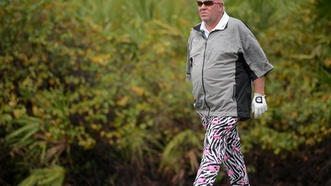 <p>               FILE - In this Dec. 15, 2018, file photo John Daly walks on the ninth green during the first round of the Father Son Challenge golf tournament in Orlando, Fla. The PGA Championship is allowing Daly to use a cart next week at Bethpage Black. It will be the first time since Casey Martin in the U.S. Open in 2012 that a player is allowed to ride a cart during a major. (AP Photo/Phelan M. Ebenhack, File)             </p>