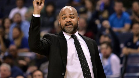 <p>               FILE - In this March 23, 2019, file photo, Memphis Grizzlies head coach J.B. Bickerstaff calls to players in the first half of an NBA basketball game against the Minnesota Timberwolves, in Memphis, Tenn. The Cavaliers have added former Grizzlies coach J.B. Bickerstaff to John Beilein's staff as an associate head coach. Bickerstaff was a candidate for Cleveland's opening and interviewed for the job before the Cavs lured Beilein away from Michigan after a successful 12-year run. Bickerstaff was fired in April by Memphis following a disappointing 33-49 season. Bickerstaff's father, Bernie, is a senior adviser with the Cavs. (AP Photo/Brandon Dill, File)             </p>