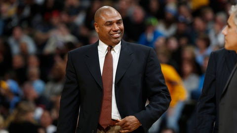 <p>               FILE - In this Dec. 22, 2015, file photo, Los Angeles Lakers assistant coach Paul Pressey watches during a break in the second half of an NBA basketball game against the Denver Nuggets in Denver. Pressey will be a special assistant to St. John's basketball coach Mike Anderson, his former teammate at Tulsa, the school announced Friday, May 31, 2019. (AP Photo/David Zalubowski, File)             </p>