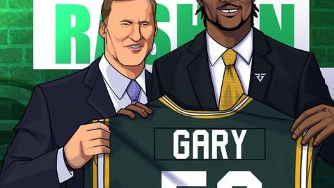 Rashan Gary, Packers linebacker