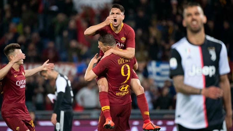Roma beats champion Juventus 2-0 in bid for top 4 spot