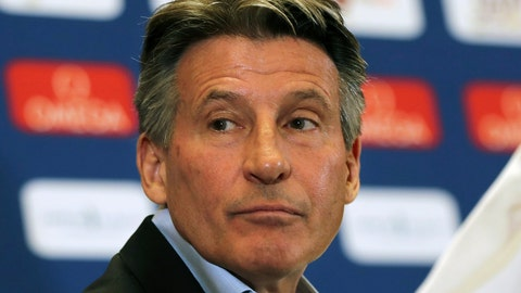 <p>               FILE - In this May 2, 2019, file photo, IAAF President Sebastian Coe attends a press conference ahead of the Doha IAAF Diamond League in Doha, Qatar. Officials of track and field's world governing body - the IAAF - said before a news conference on Friday, May 10, 2019,  in Japan that president Sebastian Coe would not comment further on the landmark legal case involving two-time Olympic gold-medal winner Caster Semenya. (AP Photo/Kamran Jebreili, File)             </p>