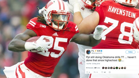 Melvin Gordon, former Badgers running back