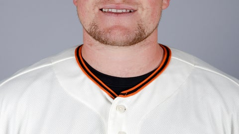 <p>               FILE - This is a 2019 file photo showing Logan Webb. San Francisco Giants pitching prospect Logan Webb has been suspended 80 games for testing positive for a performance-enhancing substance. The commissioner's office announced the punishment without pay Wednesday, May 1, 2019, for the Double-A pitcher. (AP Photo/Chris Carlson, File)             </p>