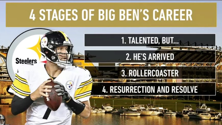 Colin Cowherd breaks down the 4 stages of Ben Roethlisberger's career