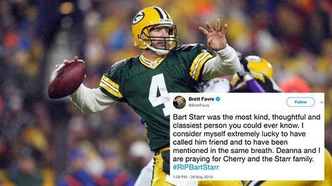 Brett Favre, former Packers quarterback