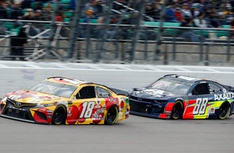 Alex Bowman on run of 2nd-place finishes in Cup Series