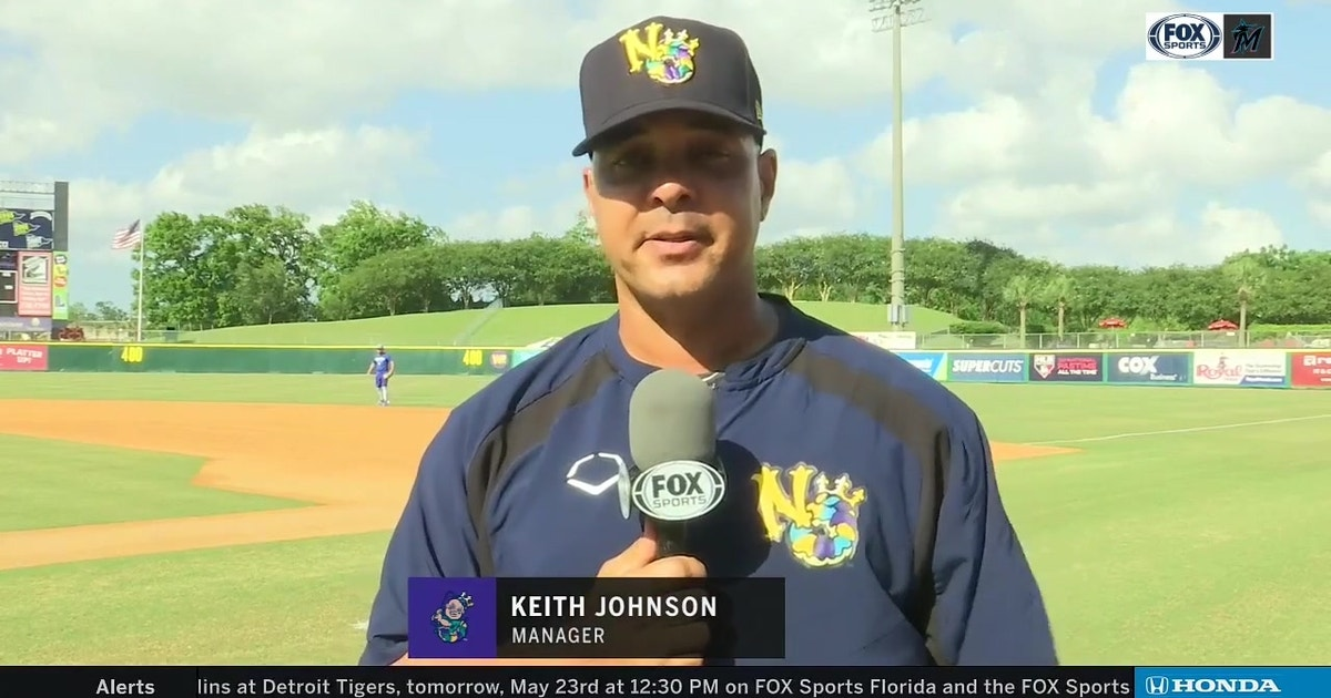 Keith Johnson details his transition as New Orleans Baby Cakes' new manager
