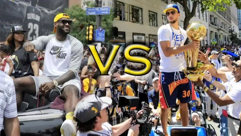 Jason Whitlock: Stephen Curry, not LeBron, is the NBA's version of Tom Brady