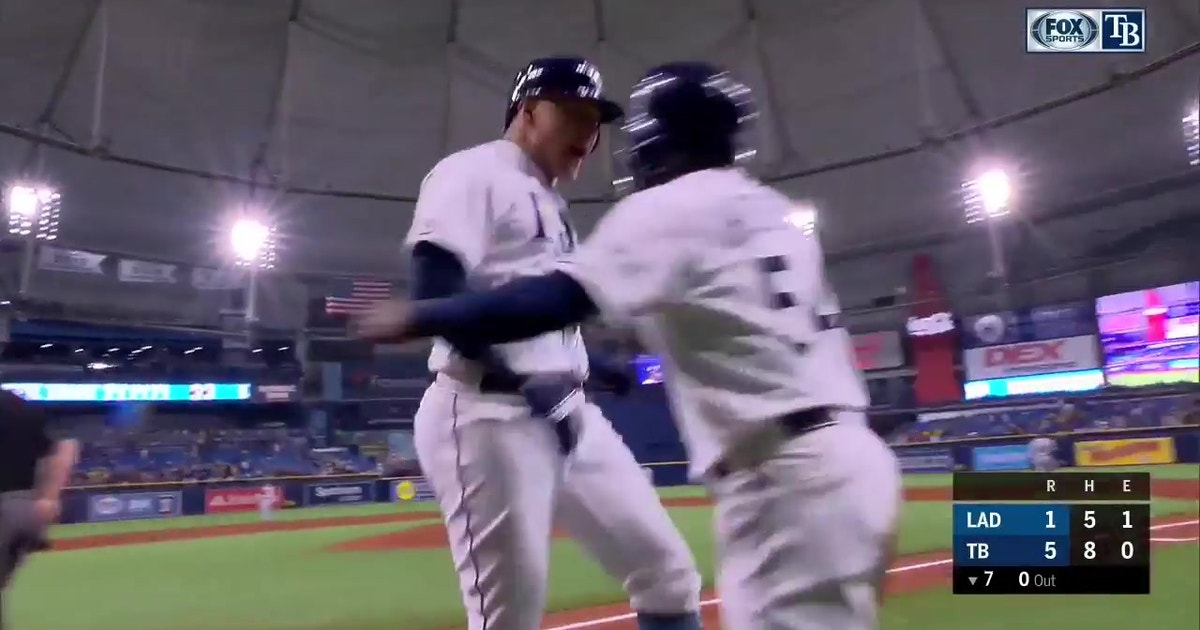 WATCH: Avisail Garcia, Kevin Kiermaier mash 3-run homers in 7th
