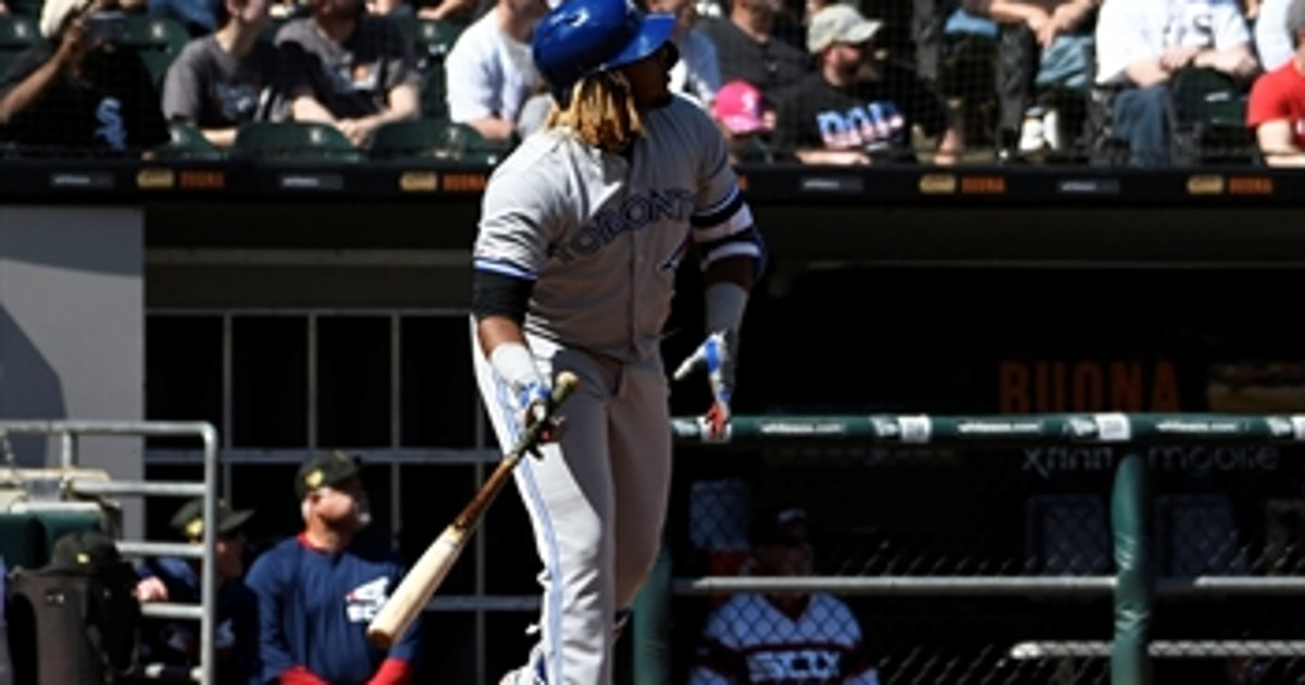 Vladimir Guerrero Jr. hits 4th home run of the season in win over White Sox