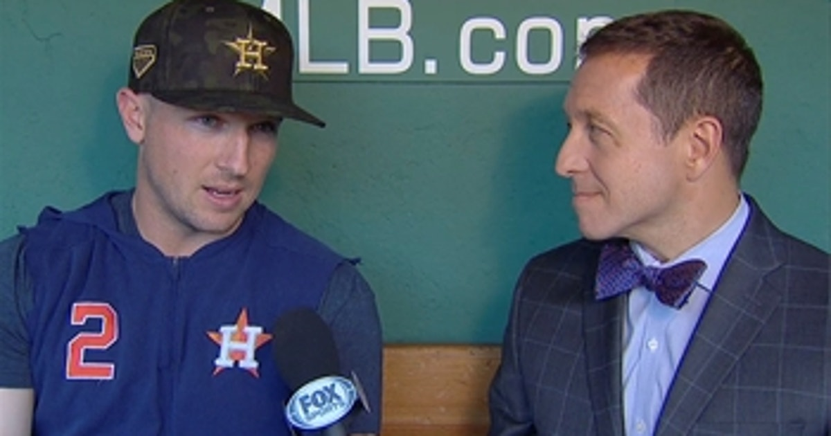 Alex Bregman talks with Ken Rosenthal about Houston's hot start