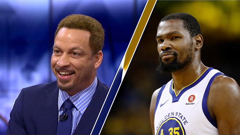 The history of the KD-Chris Broussard situation