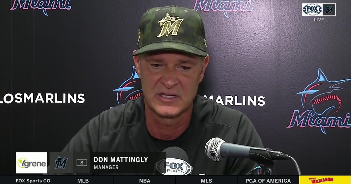 Don Mattingly talks Pablo Lopez's bounce-back performance, Marlins' 2-0 series-clinching win