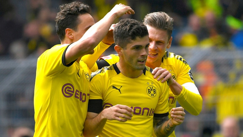 Christian Pulisic scores in his final home game | 2019 Bundesliga Highlights