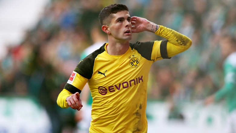 Christian Pulisic scores opening goal for Dortmund | 2019 Bundesliga Highlights