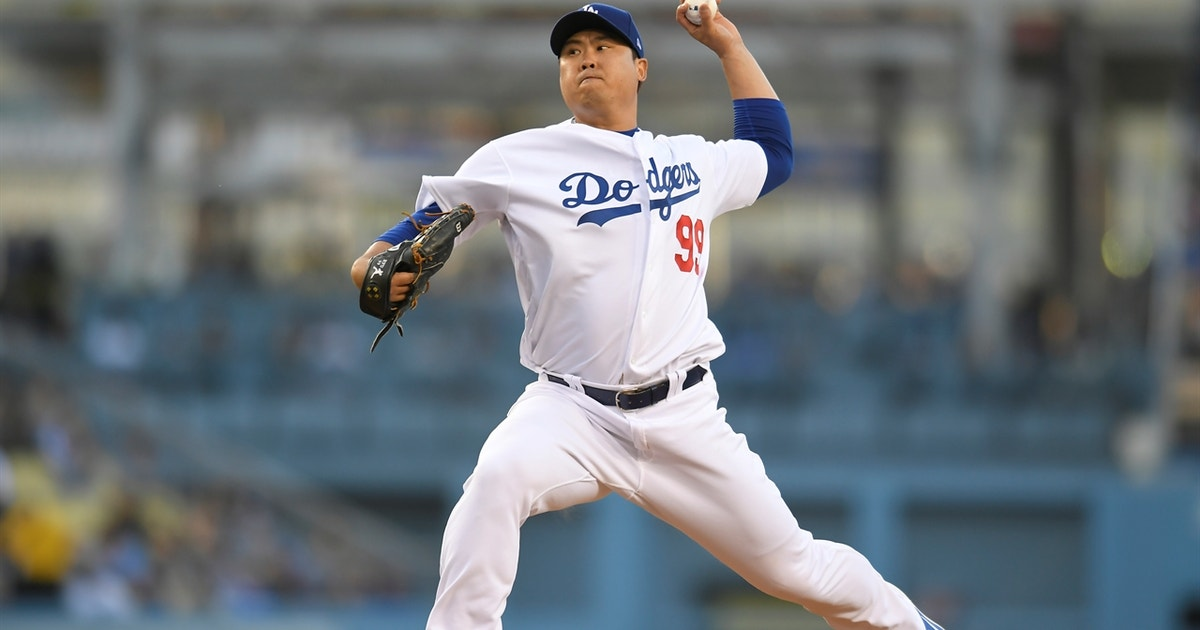 Ryu first in MLB to eight wins after another scoreless gem