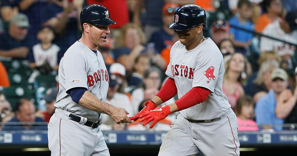 Devers takes Verlander deep, Red Sox salvage win in series finale