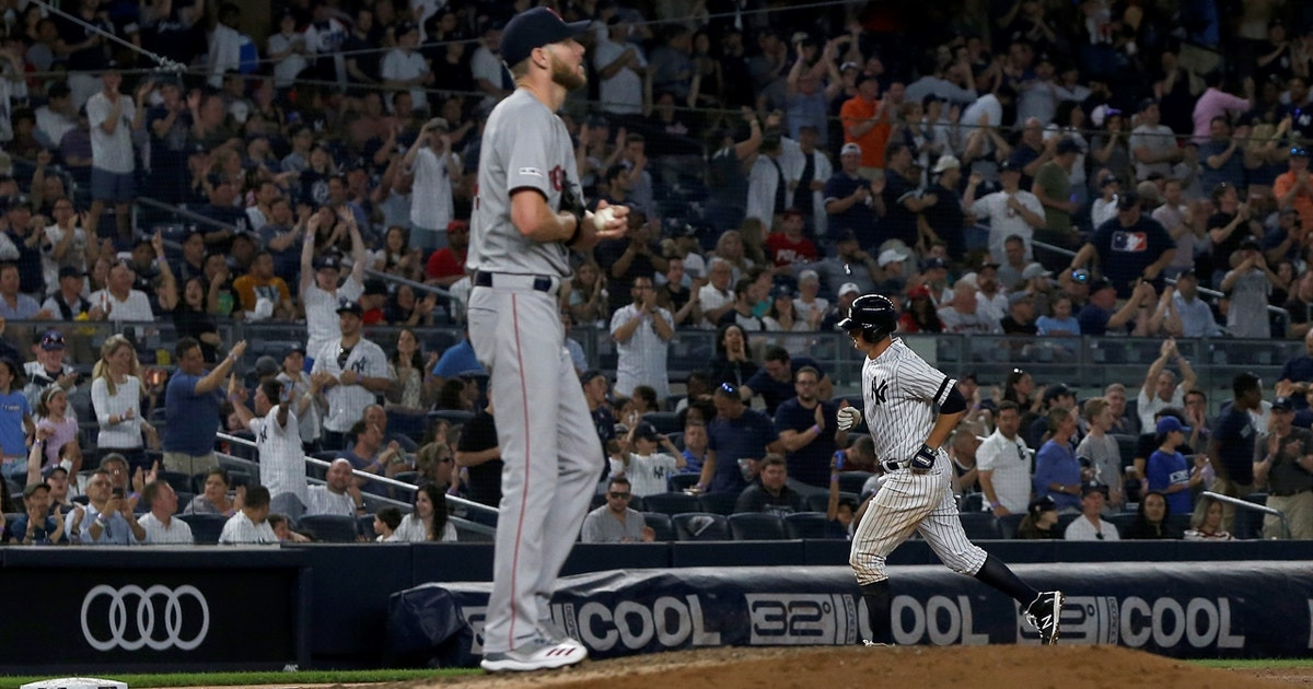 LeMahieu tees off Sale, sends Yankees past Red Sox