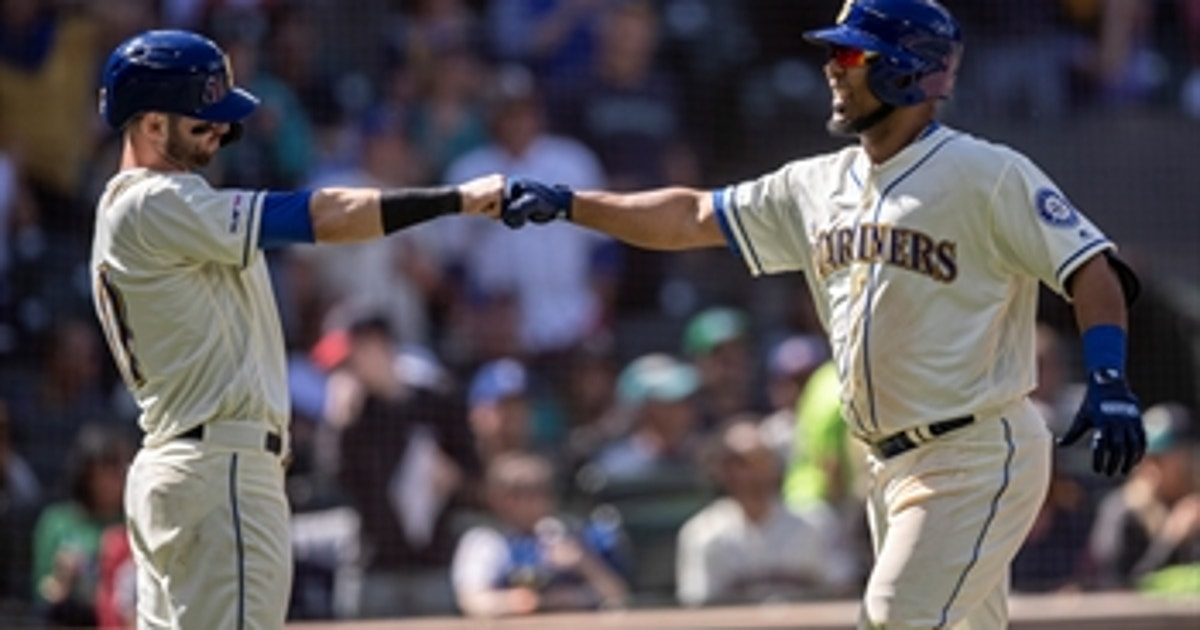 Encarnacion's 13th homer of the year helps Seattle pull away from Minnesota