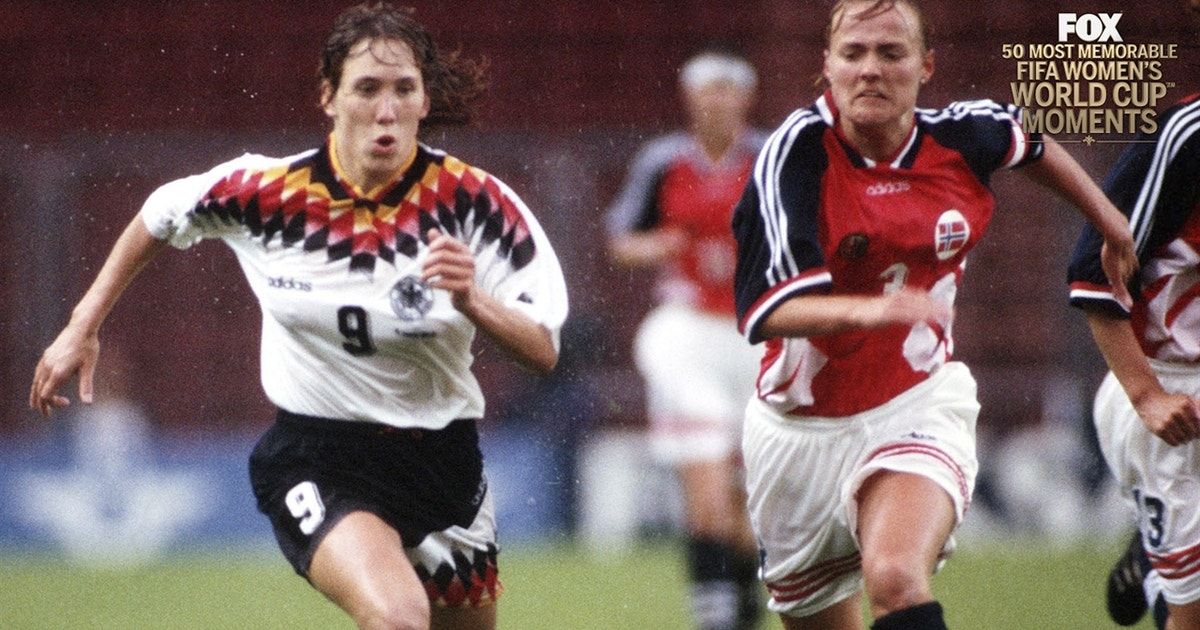 379252766 10th Most Memorable Women s World Cup™ Moment  Norway  Beginning of a  rivalry