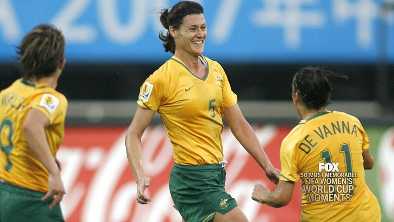 31st Most Memorable Women's World Cup Moment: Australia 2-2 Canada