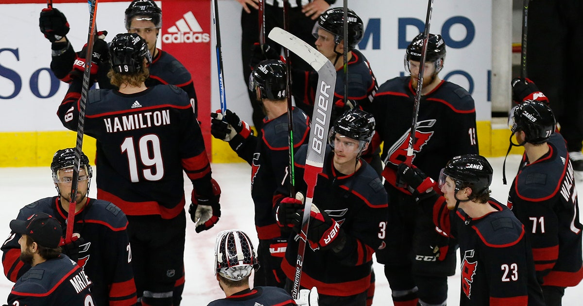 Hurricanes' season comes to end with sweep at hands of Bruins in East Final