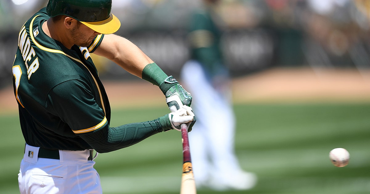 Chad Pinder hits his second home run in last 2 games helping A's get win over Tigers