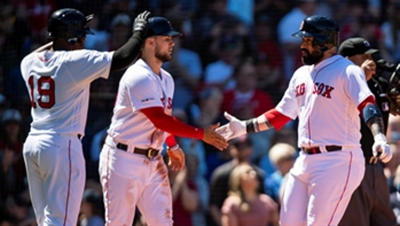 Red Sox put 8 runs on the board in 3rd inning of win over Mariners
