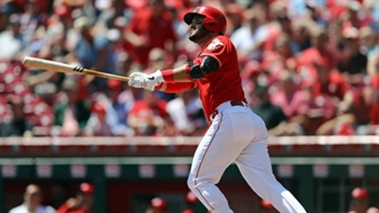 Reds put 5 runs on the board in the 1st inning of win over Giants