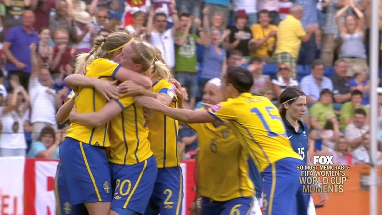 34th Most Memorable Women's World Cup Moment: Marie Hammarstrom's Hammer