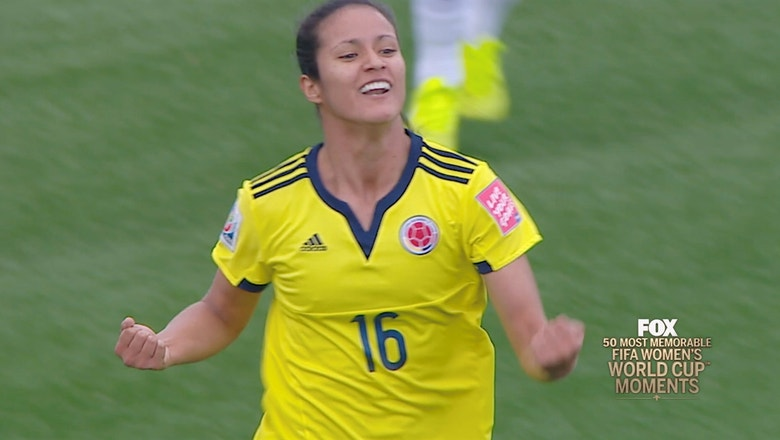 32nd Most Memorable Women's World Cup Moment: Colombia Stuns France