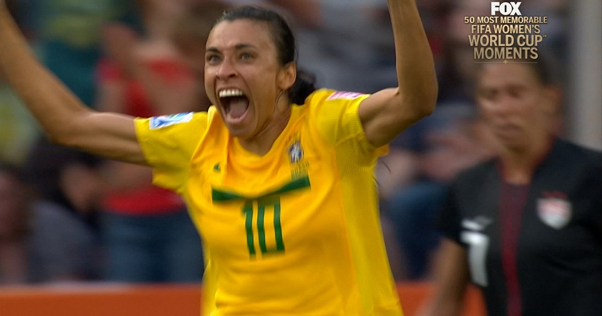 12th Most Memorable Women's World Cup™ Moment: Marta Arrives