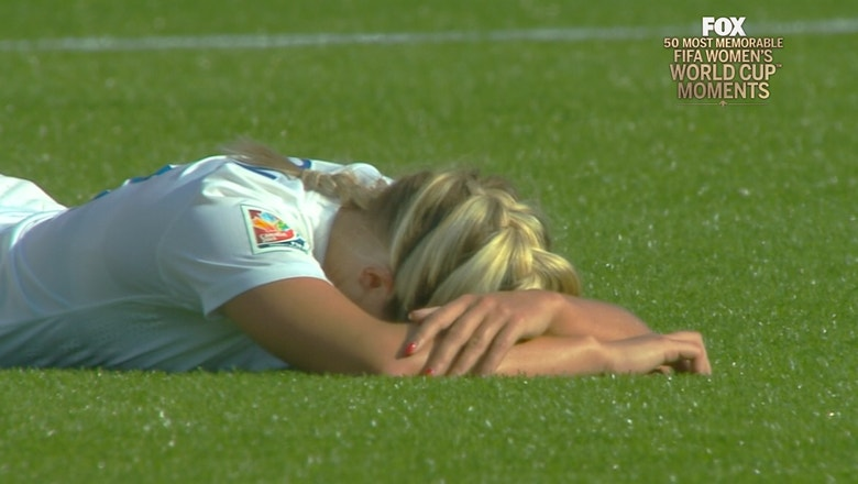 18th Most Memorable Women's World Cup™ Moment: Laura Bassett's Own Goal
