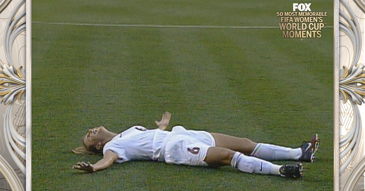 3088236b651 16th Most Memorable Women s World Cup Moment  USA vs Germany 1999 ...