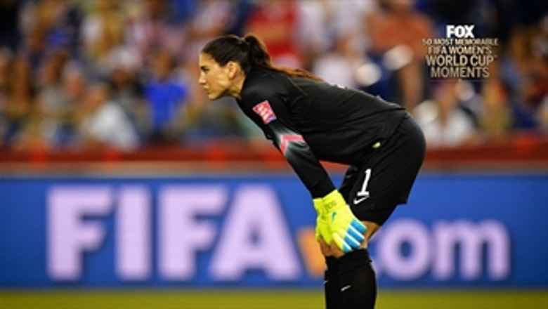 13th Most Memorable Women's World Cup Moment: Hope Solo Psychs Out Celia Sasic