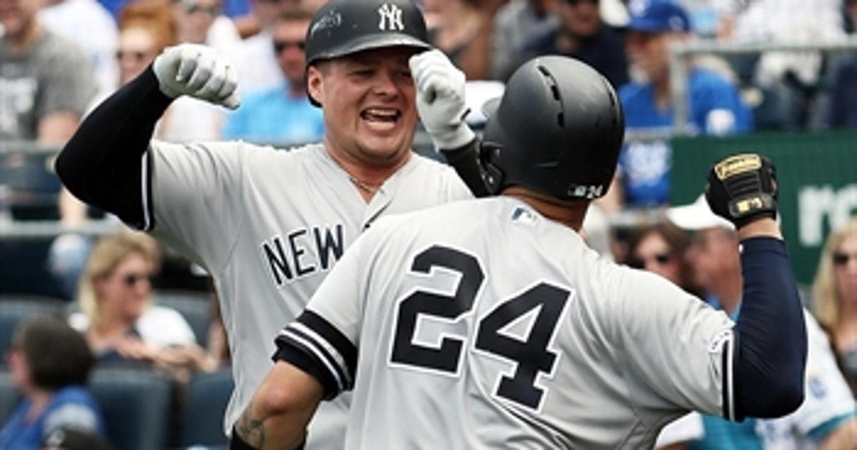 Luke Voit belts 2-run bomb as Yankees top Royals 7-3