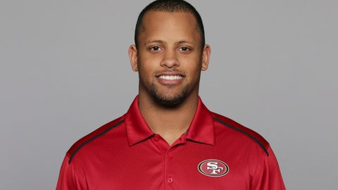 <p>               FILE - This 2016, file photo shows Keanon Lowe of the San Francisco 49ers NFL football team. Lowe, a former analyst for the 49ers and wide receiver at the University of Oregon, subdued a person with a gun who appeared on a Portland, Oregon high school campus Friday, May 17, 2019. Lowe is now a coach at Parkrose High School. (AP Photo/File)             </p>