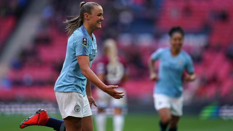 Man City seals women's double with 3-0 FA Cup over West Ham