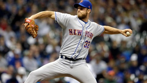 <p>               New York Mets' Steven Matz pitches during the first inning of a baseball game against the Milwaukee Brewers on Friday, May 3, 2019, in Milwaukee. (AP Photo/Aaron Gash)             </p>