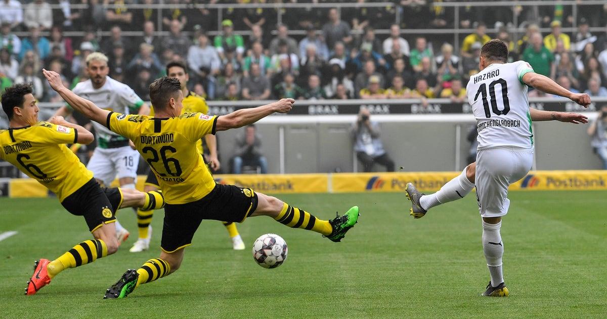 Dortmund signs Thorgan Hazard from Gladbach