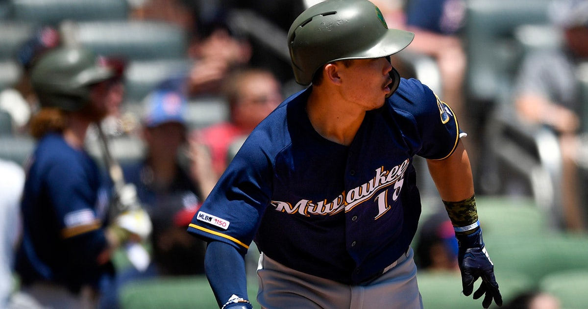 Brewers' Keston Hiura keeping up with Christian Yelich in second half