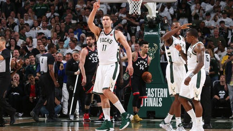 We hope you didn't count out Brook Lopez