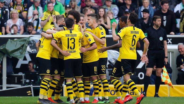Monchengladbach vs. Borussia Dortmund   2019 Bundesliga Highlights